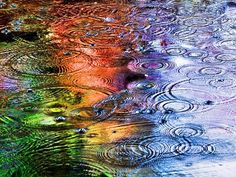 Light reflecting on water: one of my FAVORITE things in the world!!