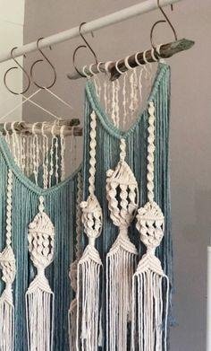 Macrame Jellyfish Wallhanging Customizable Colours Sizes