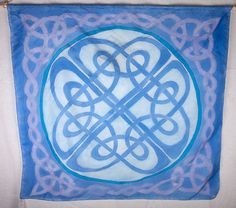 Large Celtic Silk Ha