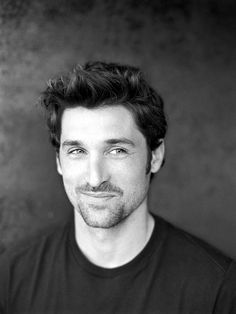 Just imagine being the person he's looking at. Sigh. #PatrickDempsey