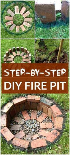 DIY Fire Pit ideas and projects