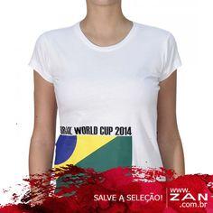Já garantiu o look para torcer para o Brasil? #VaideZan