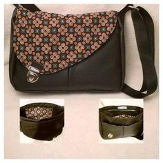 """Grand sac Tuto """"Folding"""" de Longchamps Bag Bicolore Cliquez ici pour accéder à . Paris Chic, Tote Handbags, Purses And Handbags, Zip Zip, Diy Bags Purses, Couture Bags, Diy Couture, Couture Sewing, Fabric Bags"""