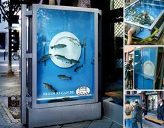 Cool and Creative Bus Stop Ads | 123 Inspiration