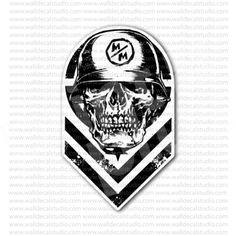 Metal Mulisha Descendant Sticker for - Stickers Motorcycle Metal Mulisha, Motorcycle Stickers, Descendants, Buy Metal, Cards, Logos, Vinyls, Logo, Maps