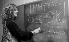 Jimmy Page Rules OK! The Golden God knows… Led Zeppelin's Robert Plant tells it like it is!