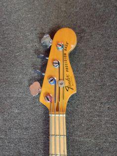 Fender Precision Bass 1978 black   Reverb