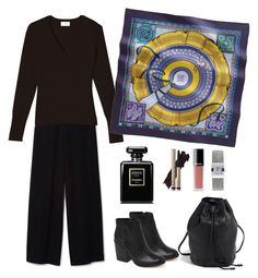 Sunday in cinema by terezah on Polyvore featuring Dolce Vita, Tissot, Hermès, Chanel and Eric Bompard