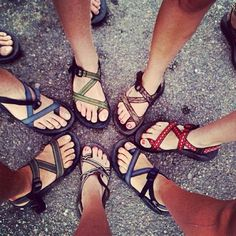 womens cute chacos - Google Search