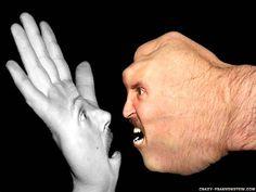 Met the hand