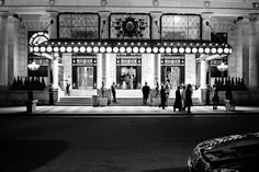 Plaza Hotel - Night | New York | After the renovation | Photo by Dave Beckerman