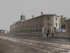 Wellington Barracks South Circular Road Dublin in later Griffith Barracks and Now Griffith College. Old Pictures, Old Photos, Griffith College, Photo Engraving, Defence Force, Dublin City, Dublin Ireland, Airports, Historical Photos