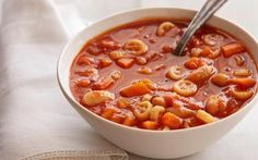 Quick Italian Tomato Soup Recipe } FoodNetworkUK  this looks like a serious shortcut to a delicious soup, will have to try sometime!