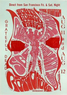 11.-12.8.1967; grateful dead; usa, detroit; grande ballroom; (db) (t)
