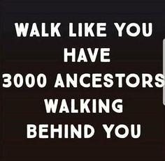 Homage to the Ancestors