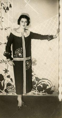 Paul Poiret, 1925.