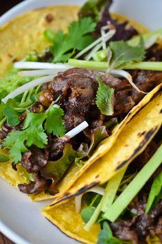 blissful eats with tina jeffers: Korean bulgogi tacos