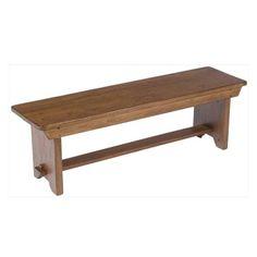 Classic Wood Bench | Nebraska Furniture Mart