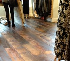 Reclaimed Douglas Fir Flooring | Wide Plank | Rustic | Brandy Melville | Reclaimed & Recycled Wood | Black's Farmwood | Reclaimed Wood Flooring | Reclaimed Wood Tables & Furniture| Wood Beams | Barn Siding | San Francisco | California