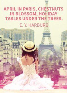 #April #Paris #fashion #wearona #quote