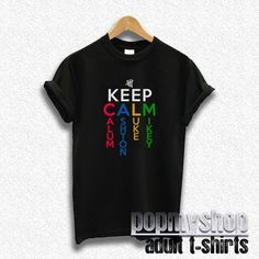 5sos shirt five seconds of summer shirt keep calm by popmyshop, $16.00