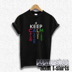 5sos shirt five seconds of summer shirt keep calm by popmyshop, $16.00