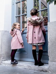 Moda Online, Fur Coat, Hipster, Jackets, Style, Fashion, Kids Fashion, Crochet Doilies, Baby Girls