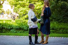 Western-inspired boots seen during Stockholm Fashion Week 2016