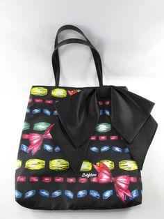 9652b78e25 Brighton Bow Tote Take A Beau Black Ribbons Purse Handbag New NWOT   Brighton  TotesShoppers