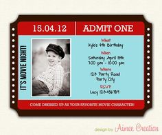 Concert Ticket Invitation Template Extraordinary Concert Ticket Save The Date  Diy Printable Door Papercakedesigns .