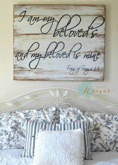 """""""Beloved"""" Wood Sign {customizable}"""