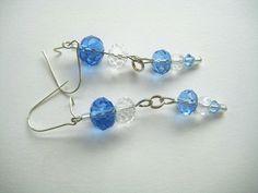 Ohrhänger - Glasperlen-Ohrringe - ein Designerstück von ticinese bei DaWanda