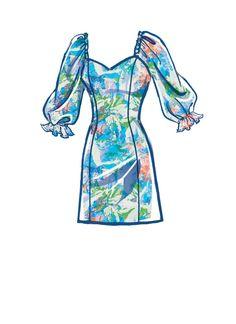 McCall's M8179 | #AlisonMcCalls - Misses' Dresses