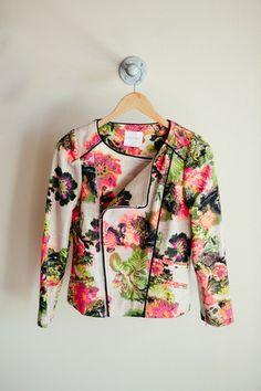 Floral Moto Jacket | #shopbloom