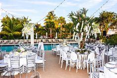 #tbt To this seaside wedding @fisherislandmiami with @chefdavidcuisine #alwaysflowersevents