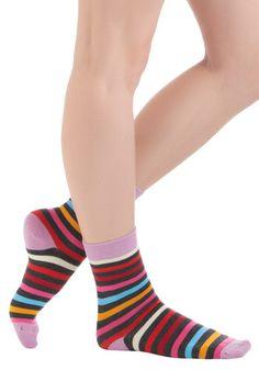 Funky on Foot Socks, #ModCloth