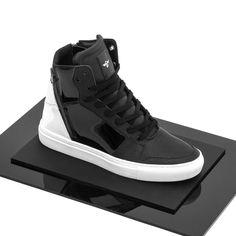 Summer '16: Adonis Black White Patent #CreativeRecreation