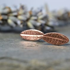 Little oval copper leaves £14.50