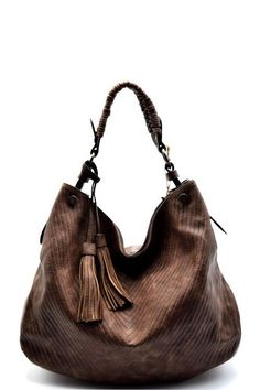 This stunning handbag is fashion-forward fabulous! You ll love the  eye-catching v-pattern design 34847a802501d