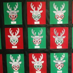 Christmas Freebies for second grade include noun word search, verb word search, funky reindeer art project, snow globe template, and Christmas math for second grade