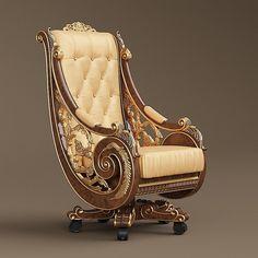 Bisini armchair model TurboSquid 1350636 is part of Furniture -
