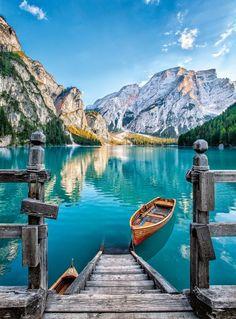 Puzzle Clementoni Lago Azul de 500 Piezas