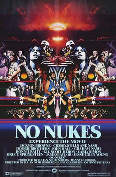 No Nukes - Experience The Movie Poster