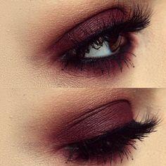 Apprendre à se maquiller - maquillage yeux marrons