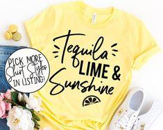 Fiesta Bachelorette Party Shirts Fiesta Shirts Bachelorette   Etsy Cute Sports Bra, Bachelorette Party Shirts, Beach Shirts, Measurement Chart, Muscle Tanks, Color Names, V Neck Tee, Shirt Style, Colorful Shirts