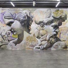 Mural by Pichi & Avo #streetart #urbanart #urban