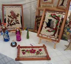 Weaving Art, Loom Weaving, Tapestry Weaving, Diy And Crafts, Arts And Crafts, Palestinian Embroidery, Collage Frames, Needle Felting, Dream Catcher