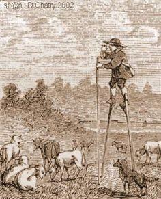 Berger: Personne qui garde les moutons mais aussi les oies, vaches, cochons et en général tous les animaux de la ferme quand ils sont dans les pacages et pâtures.