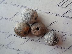 RARE Mastodon Bone Beads - Genuine Prehistoric - Large, unique, beading supplies, destash moving sale by UncommonCollections on Etsy https://www.etsy.com/listing/496865055/rare-mastodon-bone-beads-genuine