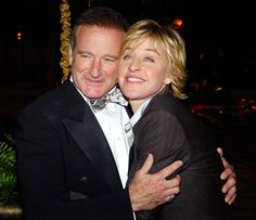 Ellen DeGeneres Photo - Robin Williams Remembered: @TheEllenShow: I can't believe the news about Robin Williams. He gave so much to so many people. I'm heartbroken.